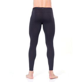 Icebreaker 200 Oasis Leggings met rits Heren, black/monsoon